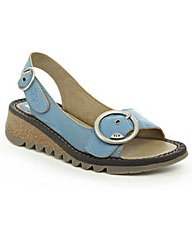 Fly Blue Tram Sandal