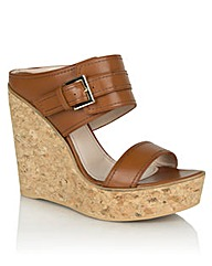 Daniel New Orleans Tan Leather Mule