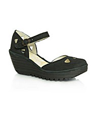 Fly Black Yuna Sandal