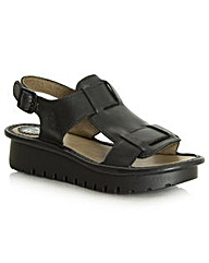Fly Kani Sling Back Sandal Black