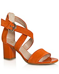 Daniel Southaven Orange Block Sandal