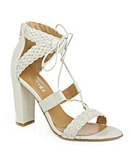 Daniel Palm Springs White Sandal