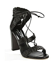 Daniel Palm Springs Black Sandal