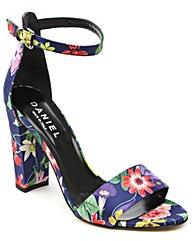 Daniel Floral Block Heel Sandal