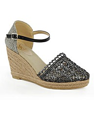 Daniel Kingscavil Espadrille Wedge