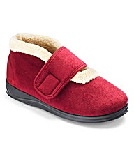 Padders Ladies Bootie Slippers EEE Fit