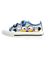 Minions Hastings Low Cut Canvas