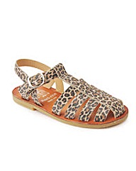 Start-rite Cannes Leopard Leather Fit F
