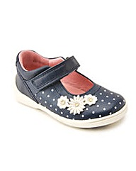 Start-rite Supersoft Daisy Navy Fit F