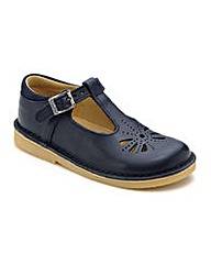 Start-rite Tea Party Navy Leather Fit F
