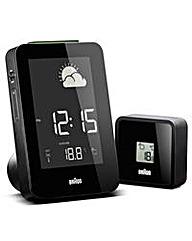 Braun Rad Control Weather Station Clock