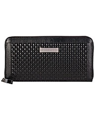 Smith & Canova Zip Around Large Clutch