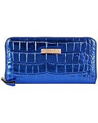 Smith & Canova Large Zip Round Clutch