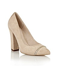 Ravel Oak Ridge ladies suede court shoes