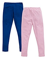 KD EDGE Girls Pack of Two Leggings