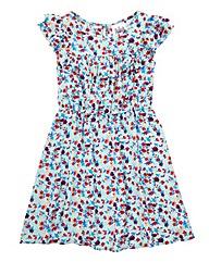 KD EDGE Floral Tea Dress