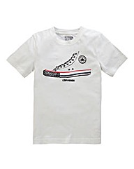 Converse Short-Sleeve Sneaker T-Shirt