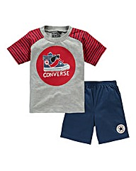 Baby Converse Top and Short Set
