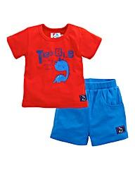 KD Baby Tee and Shorts Set