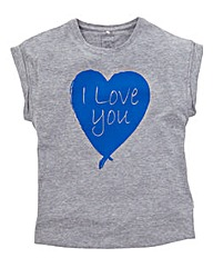 Name It Girls I Love You T-Shirt