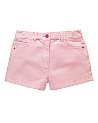 Union Blues Girls Stretch Twill Shorts