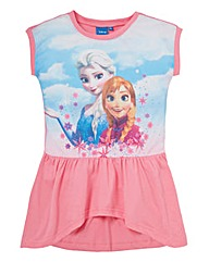Frozen Girls Short Sleeve Dress