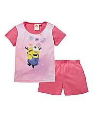Girls Minions Short Pyjamas