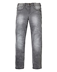Union Blues Boys Grey Skinny Jeans