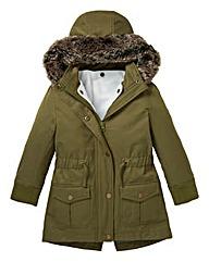 KD Girls Parka Coat