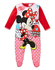 Minnie Mouse Baby Sleepsuit