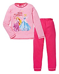 Disney Princess Girls Long Sleeve Pyjama