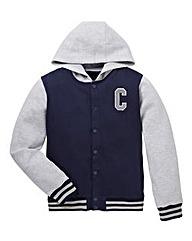 KD Boys Jersey Baseball Jacket
