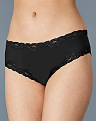 Low Rise Brazillian Briefs, Black