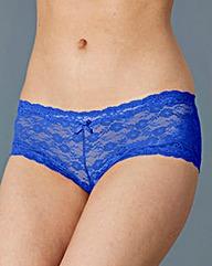 Cobalt Lace Shorts