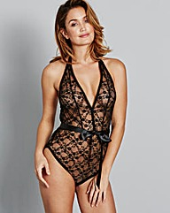 Black Leyla Lace Body