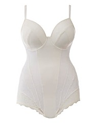 Plunge Medium Control Ivory Bodyshaper