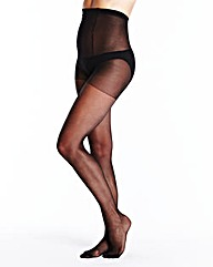 6 Pack Ladder Resist Black Tights