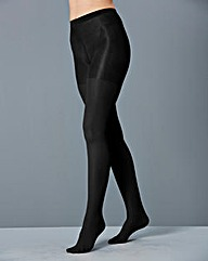Bum, Tum and Thigh Shaping Black Tights