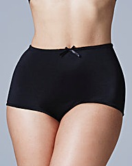 2 Pack Light Control Briefs Black/Nat