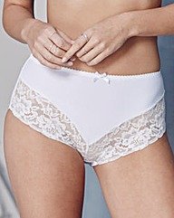 2 Pack Ella Lace Black/White Briefs