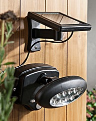 Solar Security Light With Sensor