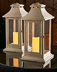 Dorset Lantern Pack of 2