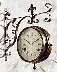 Marylebone Wall Clock and Thermometer
