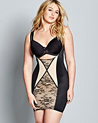 Firm Control Contrast Lace WYOB Slip