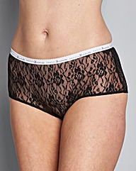 5 Pack Monochrome Lace Shorts