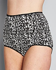 10 Pack Full Fit Animal Print Briefs