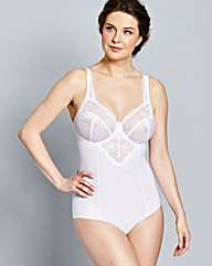 Ella Lace Light Control White Bodyshaper