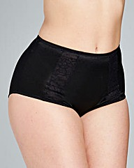 Firm Control 3 Pack Midi Briefs