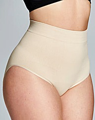 Medium Control Hi Waist Natural Briefs