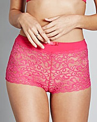 2 Pack Lottie Lace Pink Briefs
